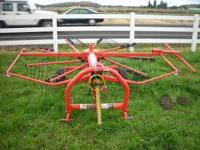 KUHN GA 300 GM 3PT RAKE IN ABSOLUTE EXCELLENT CONDITION