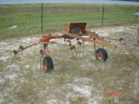 Lely 2 spyder PTO Trailer Hay Tedder $800 or best