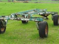 Hay Wagon running gear, good tires  Location: