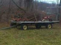 john deere hay wagon if interested please call