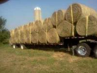 I have 4x5 and 5x6 net wrapped cattle hay for sale,