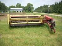 New holland 469 haybine, 9 foot cut,$700 CALL