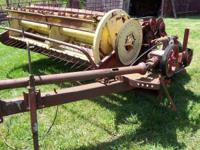 Parts for sale off New Holland 467 haybine (roller are