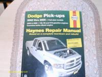 I have two Hayes Repair Manuals for sale $20.00 Each