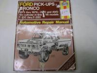 1973-1979 2wd and 4wd six-cylinder and v-8 f-100 thru