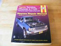 I have two Haynes manuals. I no longer own these