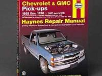 Haynes Repair Manual: Chevrolet & GMC Pick-ups [#