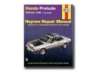 Hanes Repair Manual: Honda Prelude 1979-1989 all models