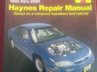 A made use of Haynes Repair Manual Chevrolet Lumina,