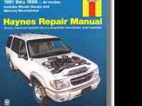 I am selling a Haynes Repair Manual for $13 (I have