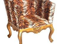 This chair is a glam slam! The Hazari chair features