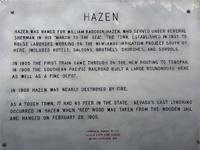 Hazen Town Lots Hiway 50 Frontage SIZE: 1.1+/- acres