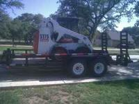 Bobcat rental in the Driftwood / Wimberley / Dripping