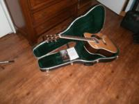 HD-35 Martin guitar with factory case. Warranty