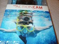 HD ActionCam Digital Camera (Sharper Image) Brand New