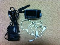 Great condition HD video camera with touchscreen