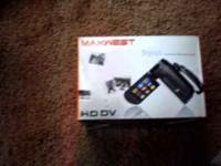 Maxwest HD DV camera. It needs a new battery, which can