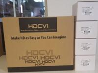 Brand new HD DVR and 4 HD cameras Support Motion