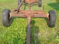 Head Cart Mover, was used for Massey Ferguson 16' Bean