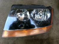 Single head lamp.  Left/driver's side