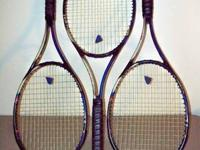 I have 3 HEAD Premier Tour Mid Tennis Racquets For