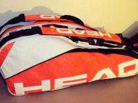 HEAD Radical 6-Pack Tennis Bag with 1 Side Accessory