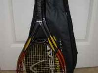As new 3 pair of top of the line Head Rackets for sale