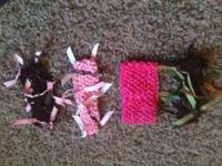 I am selling 4 headbands... I will sell all for $8 OR