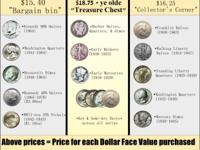 Tails or heads Coins specializes in dealing with old 90