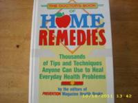 Home remedies book great reading! please call .
