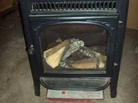Cast Iron (Slate Grey) Gas Stove Never Used 25000 BTU's