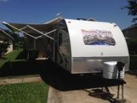 GREAT condition, lightly used...we love this trailer