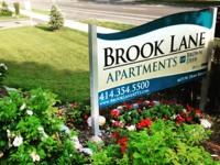Your new home is at Brook Lane Apartments in Brown