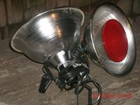 HEAT LAMPS..........GOOD FOR PLANTS OR CHICKENS OR