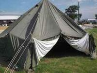 Nice military wall tents. All great for cold weather