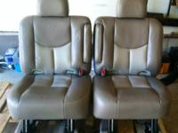 I have a set of heated leather bucket seats out of a