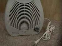 Holmes small heater with fan in excellent condition. If