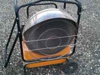 Heater, Efficient, Portable Infrared Radiant, VAL6