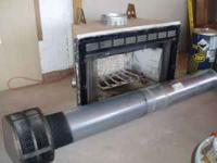 "Used Heatilator fireplace, good condition, 47""wide,34"""