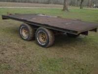 This trailer is in great shape with good tires and all
