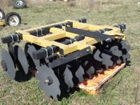 This is a brand new 3 point hitch harrow never used it