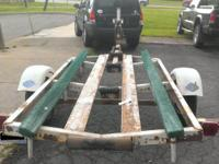 1977 Shorelander heavy duty bunk boat trailer 2500lb