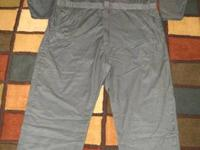 Good condition, reclaimed coveralls. Sizes 34-68