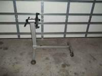 Engine stand. Heavy duty. Great condition!!! $25 Call