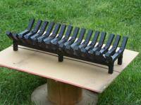 This fireplace grate is custom made from 1in x1in sq.