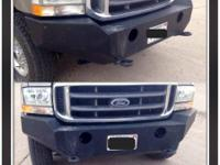 Road Armor style front bumper for 99-04 Ford Super
