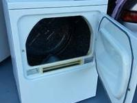 Heavy duty GAS clothes dryer for $150.00. The color is
