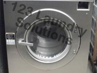 Heavy task Huebsch Front Load Washer 208-240v Stainless