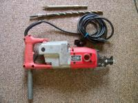 For sale I have a Heavy Duty Milwaukee Rotary Hammer.