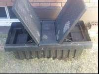 I have a plastic toolbox for sale I have no keys for it